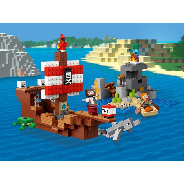 """Конструктор Bela 11170 Minecraft """"Приключения на пиратском корабле"""" купить"""