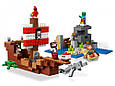 "Конструктор Bela 11170 Minecraft ""Приключения на пиратском корабле"", 404 детали. Аналог Лего Майнкрафт 21152, фото 4"