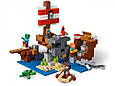 "Конструктор Bela 11170 Minecraft ""Приключения на пиратском корабле"", 404 детали. Аналог Лего Майнкрафт 21152, фото 5"