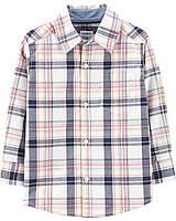Клетчатая рубаха Carter's