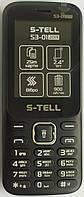 Мобільний телефон S-Tell S3-01(2019), Black