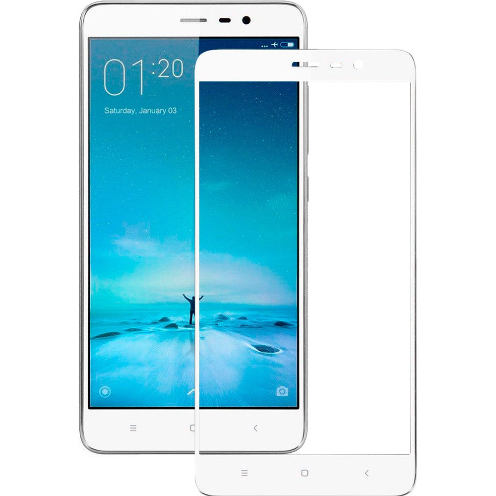 Защитное стекло 2.5D  для Xiaomi Redmi Note 3/3 Pro