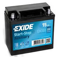 Акумулятор Exide 15AH/200A (EK151)