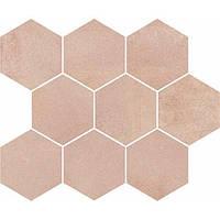 Декор Opoczno Arlequini Mosaic Hexagon 28*33,7 см