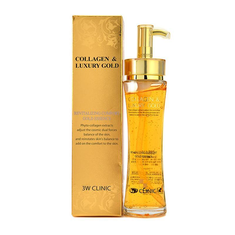 3W CLINIC Collagen & Luxury Gold Revitalizing Comfort Gold Essence Восстанавливающая эссенция