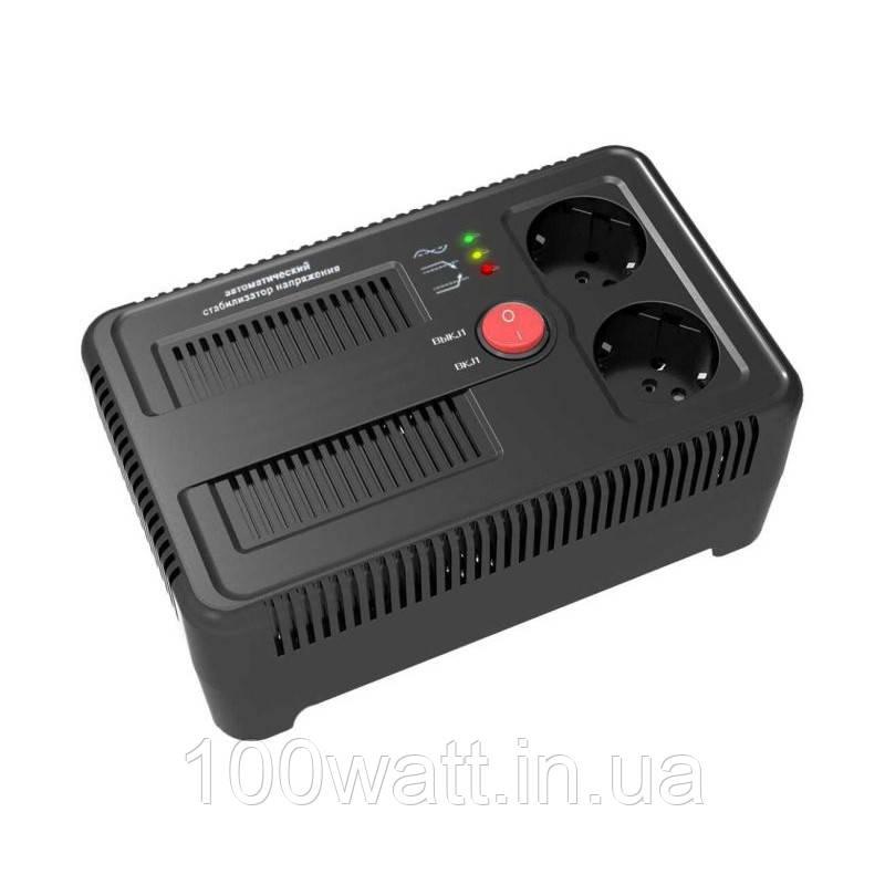 Стабилизатор напряжения электронный НСТ-1000 на 2 розетки
