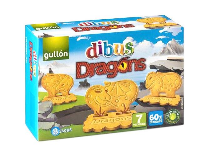 Печиво Gullon Dibus Dragons 300 g
