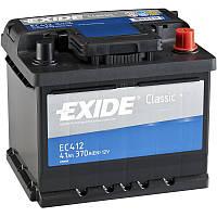 Акумулятор Exide Classic 41AH/370A (EC412)