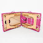 Массажный стол деревянный 2-х сегментный RelaxLine Lagune массажная кушетка для массажа, фото 8