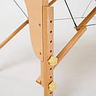 Массажный стол деревянный 2-х сегментный RelaxLine Lagune массажная кушетка для массажа, фото 7