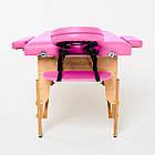 Массажный стол деревянный 2-х сегментный RelaxLine Lagune массажная кушетка для массажа, фото 5