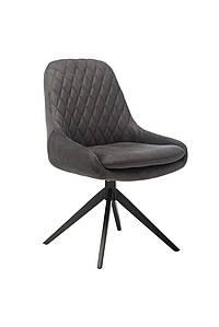 Поворотный стул R-80 графит Vetro Mebel, ткань