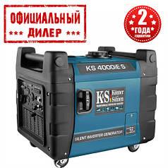 Бензиновый инверторный генератор Konner&Sohnen KS 4000iE S (4 кВт)
