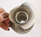 Винтажный оловянный кувшин, кувшинчик, пищевое олово, Германия, 400 мл, фото 8