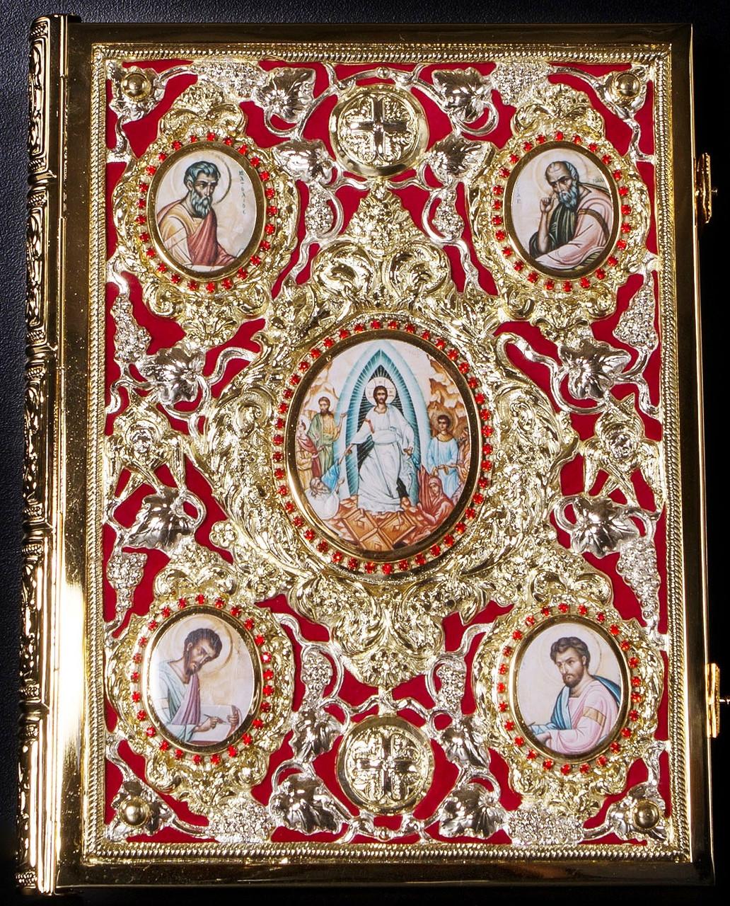 Евангелие в окладе №4