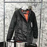 Куртка, парка Parka Caswera Skew Black / Реплика