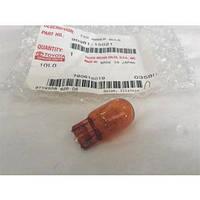 Лампа безцокольная T20 (W3x16d) оранжевая TOYOTA 90981-15021