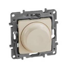 ETIKA Світлорегулятор поворотний 300Вт, колір Слонова Кістка