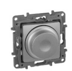 ETIKA Світлорегулятор поворотний 300Вт, колір Алюміній