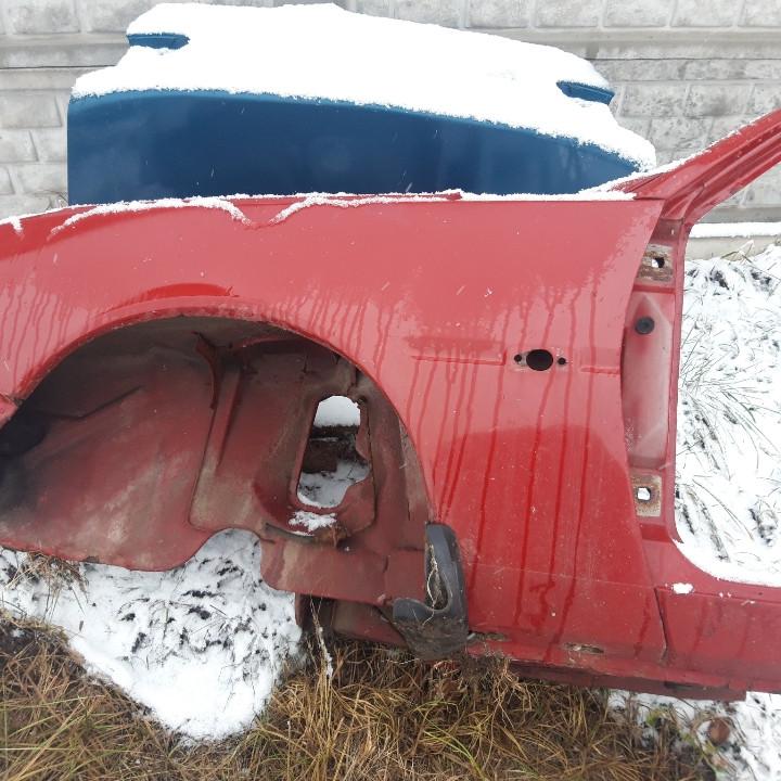 Левая передняя часть кузова Заз 1102 1103 11055 б у