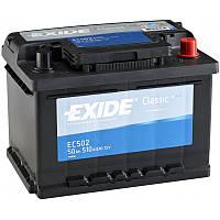 Акумулятор Exide Classic 50AH/510A (EC502)