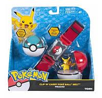 Игровой набор Pokemon Пояс с Покеболами, фото 1