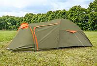 Палатка туристическая Abarqs Vigo-4 двухслойная проклеенные швы