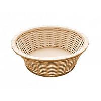 Корзинка для хлеба круглая APS d=20 см бежевый 40213