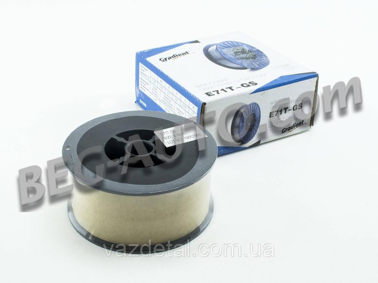 Проволока сварочная (1 кг) 0,8 мм флюсовая (ER70S-6)