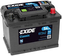 Акумулятор Exide Classic 54AH/500A (EC542)
