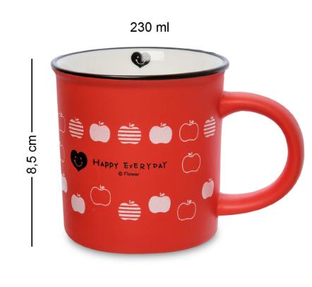 Чашка керамическая Happy 230 мл MUG-255/2