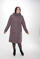 Пальто-плащ женское П-70 бардо