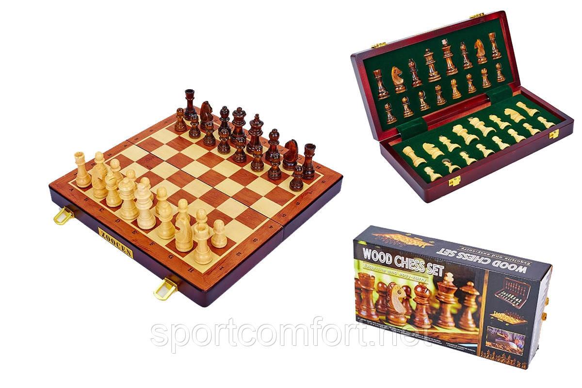 Розпродаж шахи дерев'яні zoocen 35 см