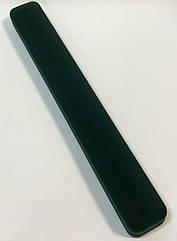 Футляр для браслета, цепочки узкий зеленый бархатный 977А