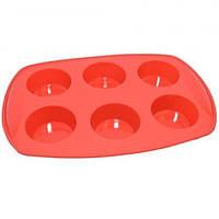 Форма силиконовая для выпечки кексов Krauff 30х20,7х3,3 см 26-184-027