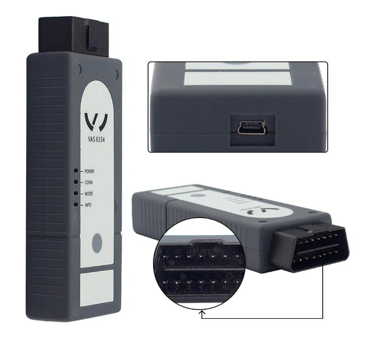 Діагностичний OBD2 сканер VAS 6154 ODIS 4.4.10 WIFI