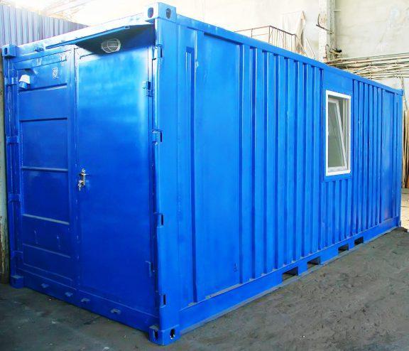 Будівельний вагончик для розміщення робочих