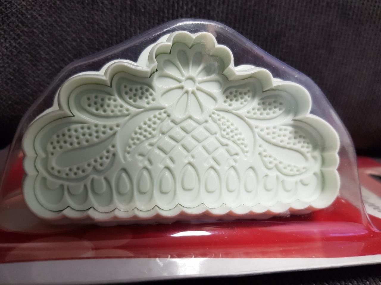 """Плунжер для мастики """"Вензель цветок"""" Китай - 02395"""