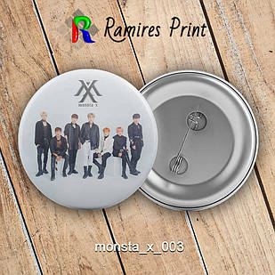 Значок K-Pop Monsta X 003