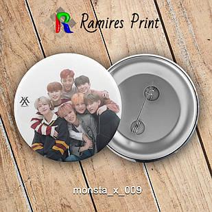 Значок K-Pop Monsta X 009