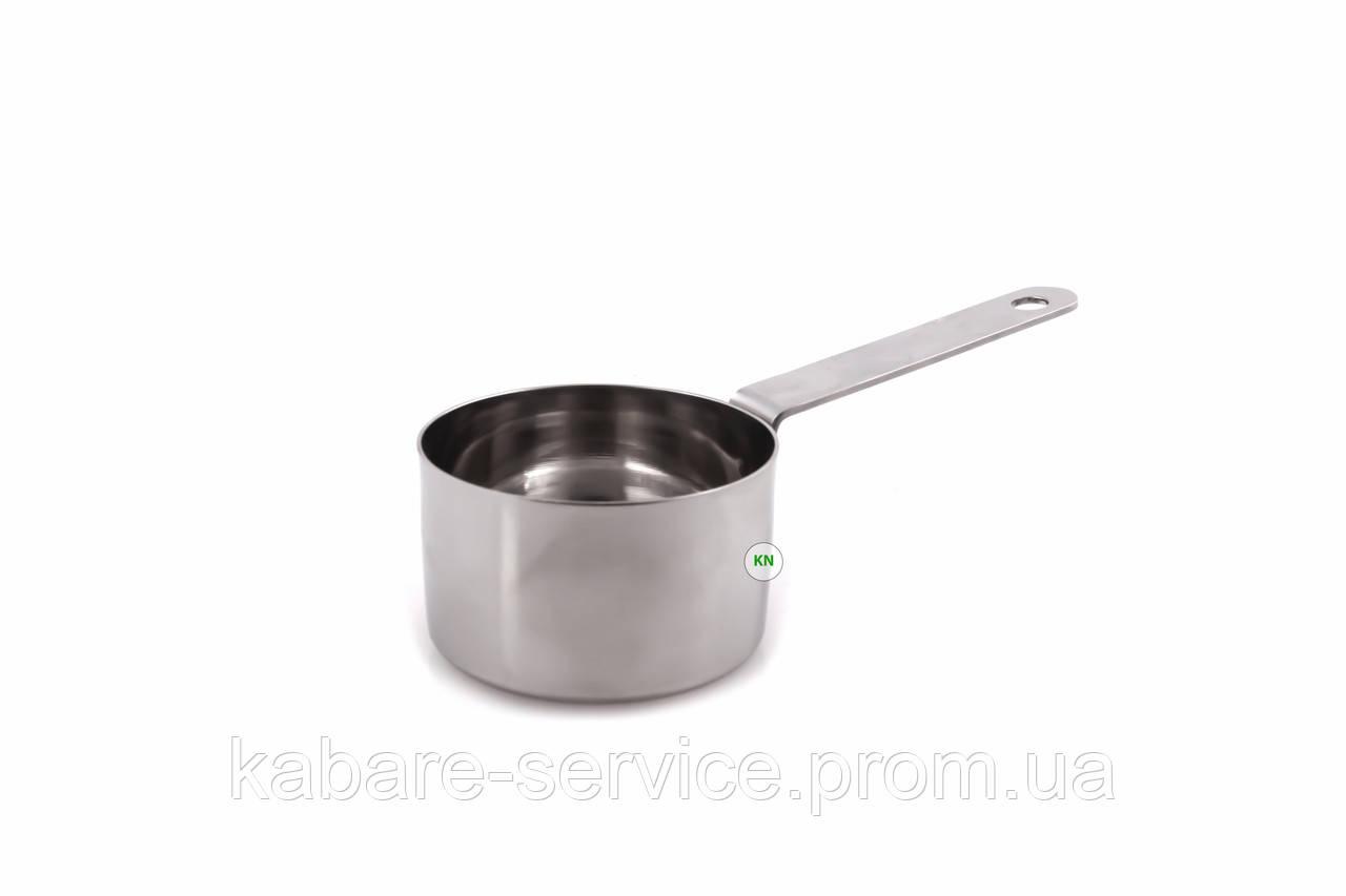Соусник-мини, с ручкой 6 см 50 мл (нержавеющая сталь)