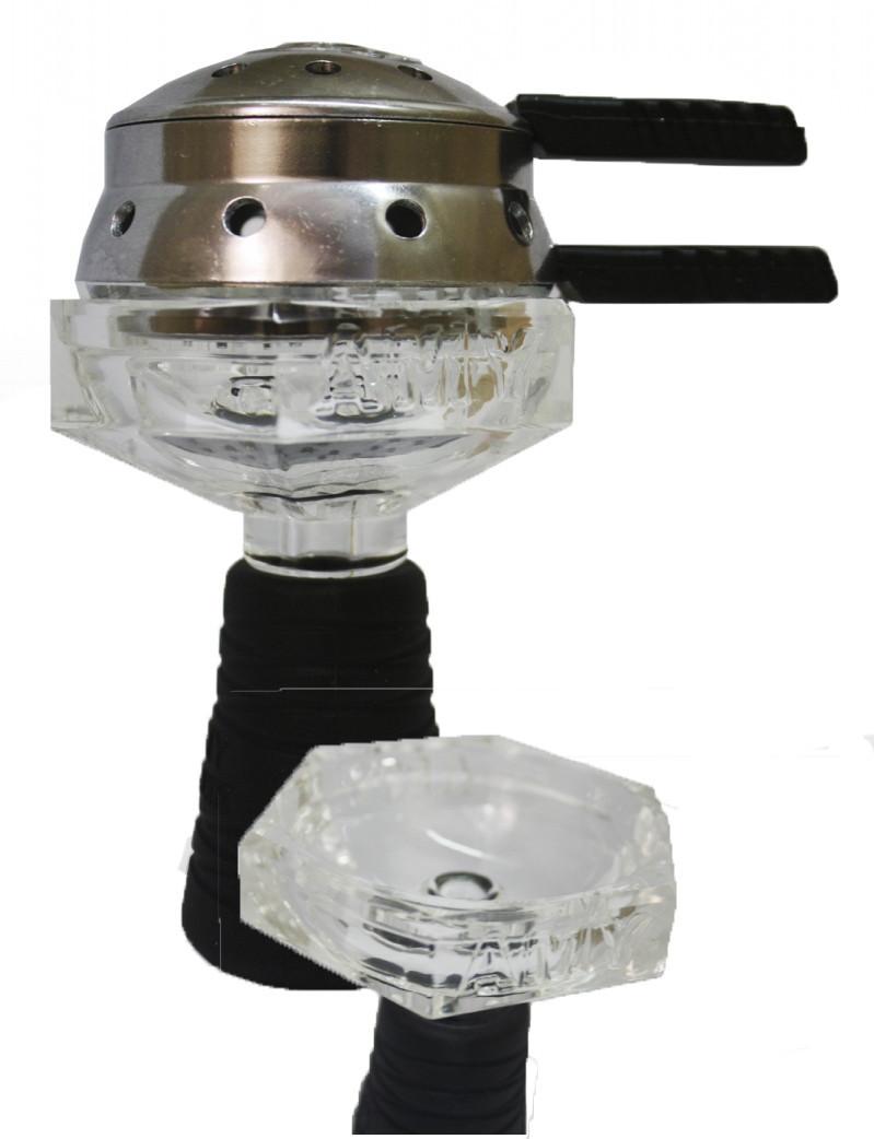 Комплект Скляна Чаша+Калауд AMY Glassi Cristal Set 005