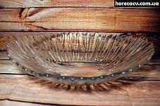 """Блюдо глубокое стеклянное овальное Pasabahce """"Аврора"""" 36х26.4 см (10611), фото 3"""