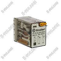 Реле FINDER 55.32.8.230.0054, 230VAC, 10А/250VAC 10А/30VDC