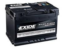 Акумулятор Exide Classic 60AH/540A (EL600)