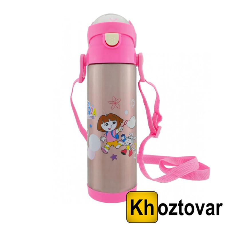 Детский термос «Дисней» с трубочкой поилкой ZK-G-604 | 500 мл