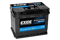 Акумулятор Exide Classic 60AH/680A (EK600)