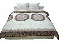 Комплект постельного белья Полуторный , сатин Люкс Медальон.