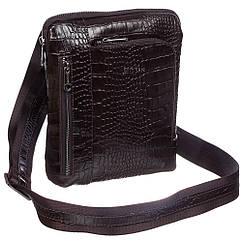 Кожаная мужская сумка-мессенджер Desisan