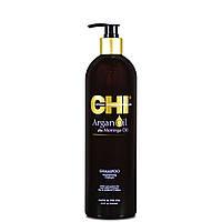 Восстанавливающий шампунь для волос CHI Argan Oil 739 мл